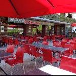 Terrasse du Café Restaurant le Point Gets