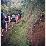 Short hikking to Materuni waterfalls