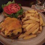 Swiss premium burger