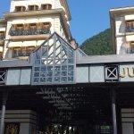 維多利亞美好時代酒店位於因特拉肯市中心
