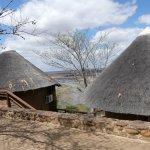 Les bungalow donnant sur la rivière