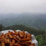 French fries with this view?