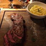 Flank Steak with mash