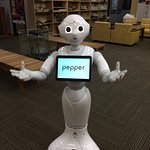 Pitiful, Pepper not programmed to speak English :-)