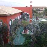 vista parcial do hotel