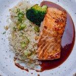 Our best seller- salmon teriyaki