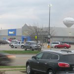 Walmart across the road