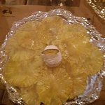 carpacio ananas coco