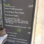 Le menu brunch
