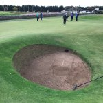 Road Hole Bunker on 17