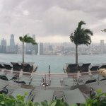 Infinity Pool. Sadly we are not able to enjoy it due to bad weather. :(