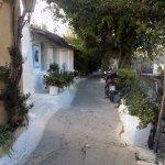 Bello barrio ateniense.