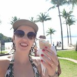 sorvete de casquinha maravilhoso!! No bar da praia das 10 as 17 horas