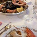 Assiette de fruits de mer (un peu cher pour ce qu'il y a)
