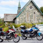 Historic buildings in Ireland touring with Belfast Motorcycle Rentals