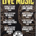 Live Music Line up in Leamington Spa