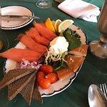 smoked trout and salmon.....amazing!!!