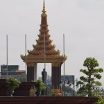 Statue of King Father Norodom Sihanoukの写真