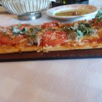 Flat bread with italian sausage