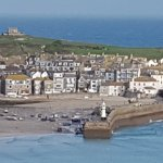 St. Ives and the bay.