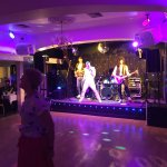 Fantastic Queen tribute, a treat to see in Reading. Delicious 3-course dinner, hot and plentiful