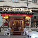 Hotel St. Gotthard Resmi