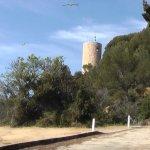 Castell de Sant Joan, апрель 2017 года...