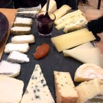 the cheese selection (15 kinds)