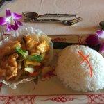 Sweet & Sour Chicken and Steam Jasmine Rice