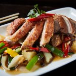 Pan fried Duck with Pineapple