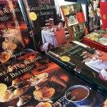 Autographed tea books by owner Bruce Richardson