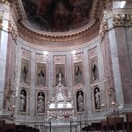 Stunning altar and ceiling
