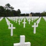 Colleville American Cemetery near Omaha Beach