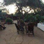 5:30 vor der Safari gibt es Kaffee oder Tee