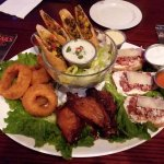 Plentiful and satisfying appetizer assortment