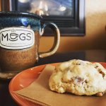 coffee.scone.fireplace. winter's got nothing on us.