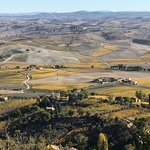 The view in Montalcino