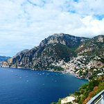 Looking back to Positano