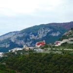 Leaving Amalfi, headed to Ravello