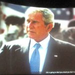 Introductory Movie, Geoge W Bush Presidential Lbrary and Museum, Dallas, Texas