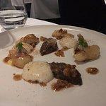 Jersalem artichoke, Coolea cheese, guanciale hazelnut