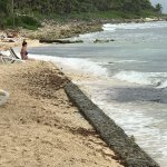 This is the SAD BEACH on the El Dorado side! Can't compare to Sensimar's beach!