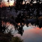 Sunset on the Deschutes River