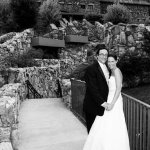 One of our wedding pics below the GPI:)