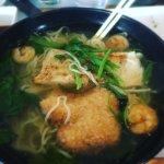 Fish ramen soup