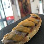 Sardina Marinada todo el Mercado junto- Marinaded and Smoked Sardine, Tradicional wholesales mar