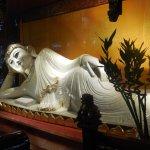 The gorgeous White Jade Buddha