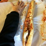 meatball sub as long as your arm