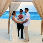 Ceremony on the beach