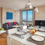 Two Bedroom Dining and Living
